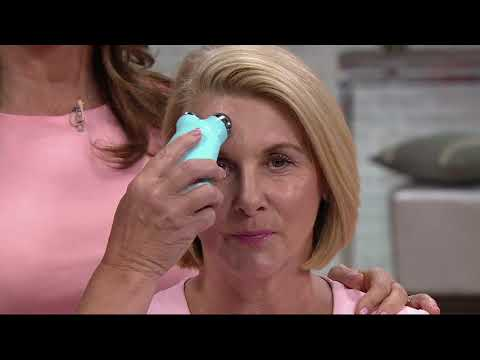 NuFACE Trinity Microcurrent Facial Toning Device with ELE Attachment on QVC