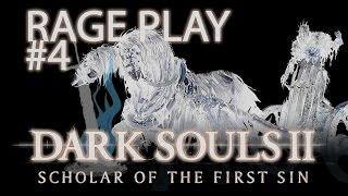 Dark Souls 2 SOTFS Rage #4 - EU NÃO SEI PULAR?