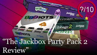 The Jackbox Party Pack 2 Review [PS4, Switch, Xbox One, PS3, & PC] (Video Game Video Review)