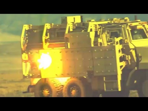 Incredible Video of the 'Future' Weapon Railgun Armor Penetration Test