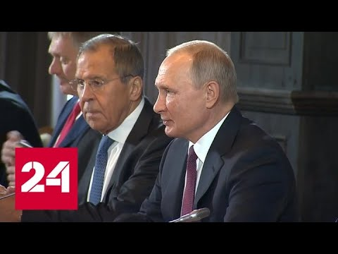 Путин встретился в Сочи с президентом Азербайджана и королем Иордании - Россия 24