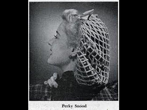 1940s Vintage Perky Snood Crochet Tutorial Youtube