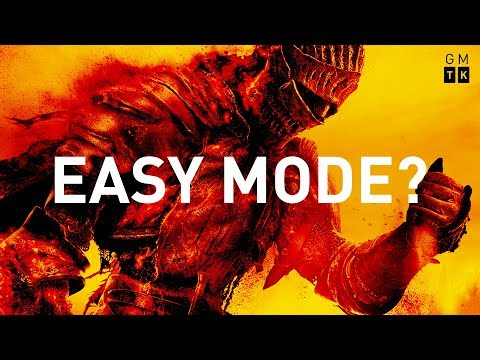 Should Dark Souls Have An Easy Mode? | Game Maker's Toolkit