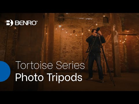 Benro Tortoise Series Photo Tripods | Portable, Versatile Tripods for the On-the-Go Photographer