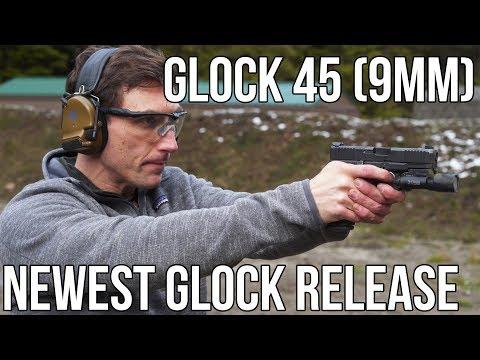 The Glock 45, the latest Glock design.