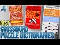 8 Best Crossword Puzzle Dictionaries 2018