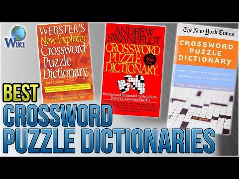 8 Best Crossword Puzzle Dictionaries 2018 - YouTube