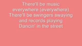Dancing in the Street - Atomic Kitten