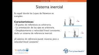 Introducción a los sistemas de referecia inercial