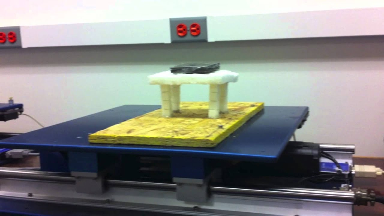 collapse of sugar cube structure - youtube