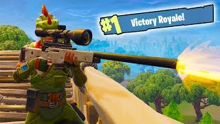 FORTNITE - THE SNIPING DUOS! (Victory Royale)