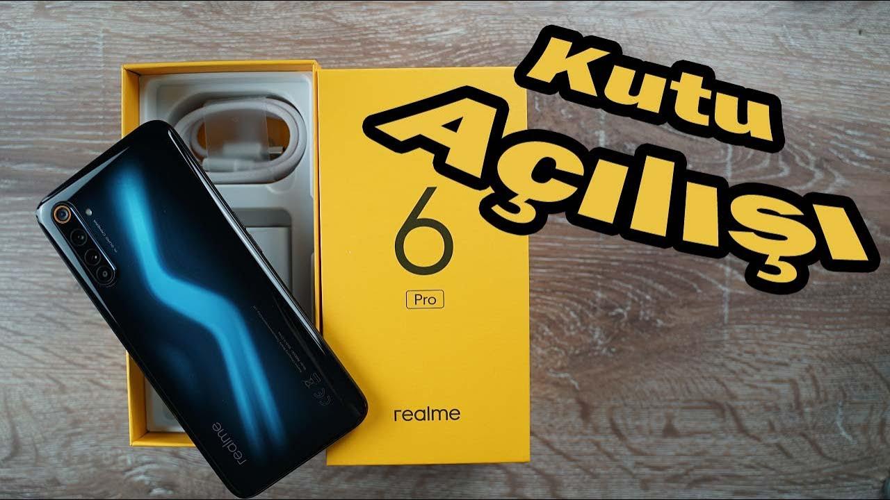 Realme 6 Pro kutu açılışı! O nasıl renk OPPO Bey?