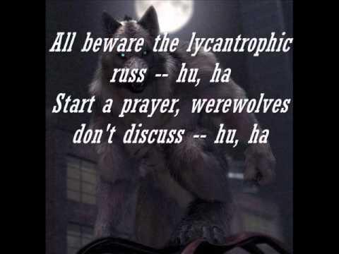 Powerwolf - Werewolves Of Armenia With Lyrics