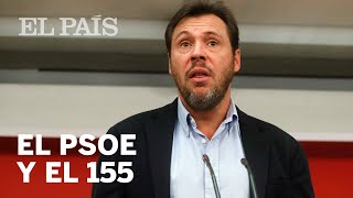 Óscar Puente habla sobre el 155   España
