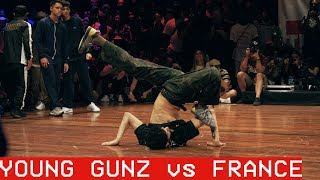 Cover images Young Gunz vs France / ALL VS ALL / The Notorious IBE 2018