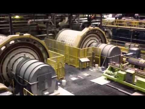 Visite de la mine Québec Lithium
