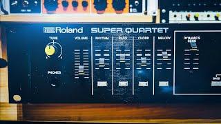 The Roland Super Quartet - The 80s band in a box!