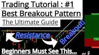 The ULTIMATE beginners guide To Breakout PATTERN Trading