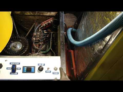 How I start my wood gas generator