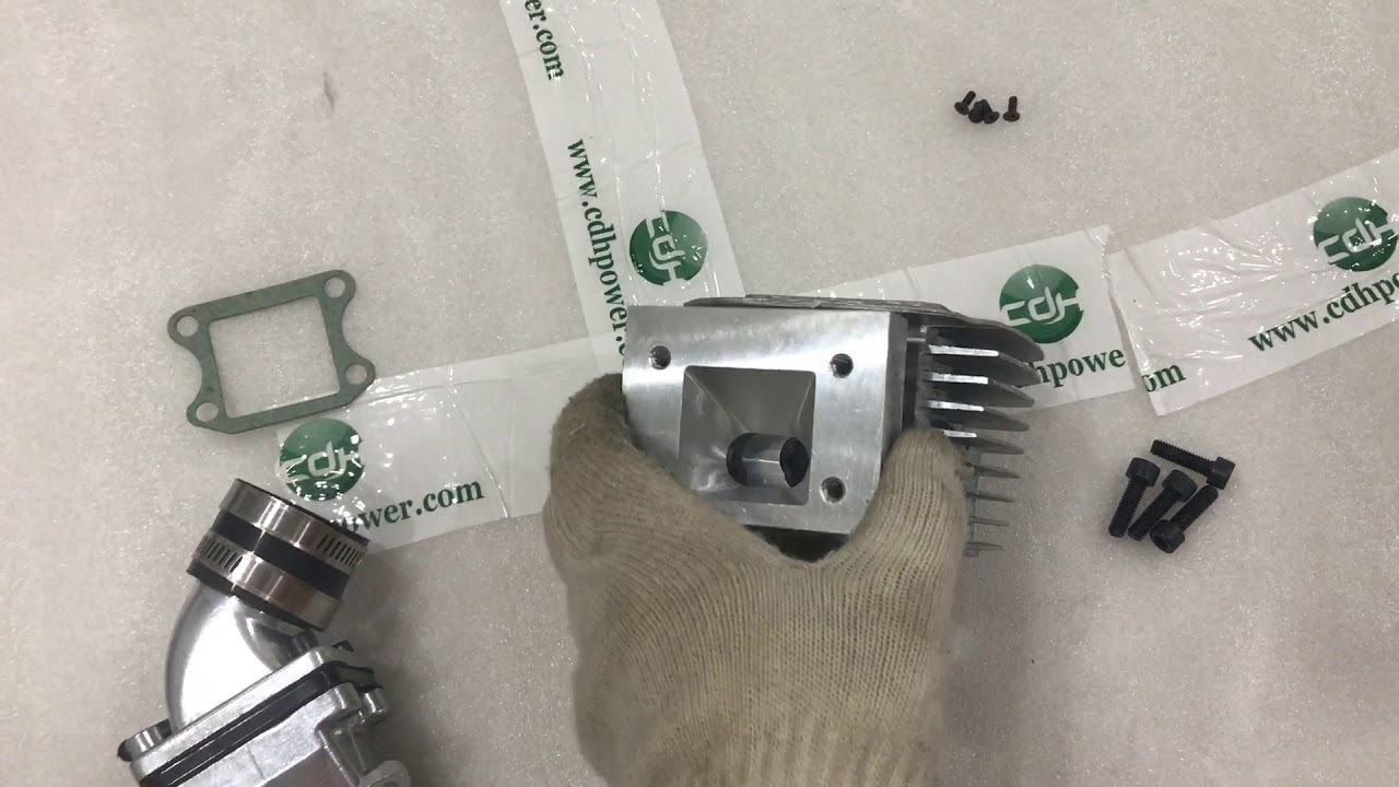 how to attach CDH dio reed valve kit to cylinder
