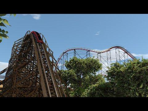 Western Adventure - Small NoLimits 2 Theme Park |