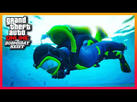 DOOMSDAY Heist First Look | Jet Pack, Flying Car, Scuba Gear, New Masks and MORE | GTA Online 1.42