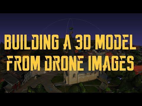 Building 3D Models by UAV