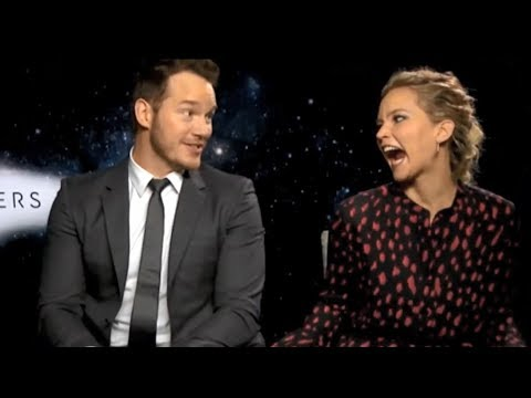 Jennifer Lawrence Can't Hide Her Affection For Chris Pratt