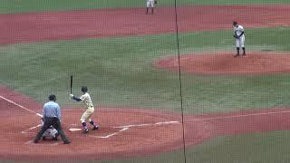 第四十九回明治神宮野球大会(2018年)準決勝 星稜-高松商 3回裏打者東海林