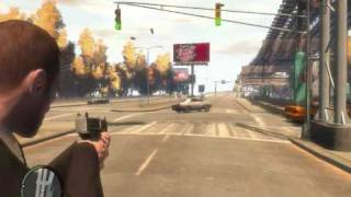 GTA iv gameplay pc hd4850 q8200