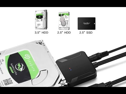 Кабель SATA 3 USB 3.0 адаптер карман для SSD HDD жесткого диска 2.5 3.5 дюйма с доп. питанием 12V