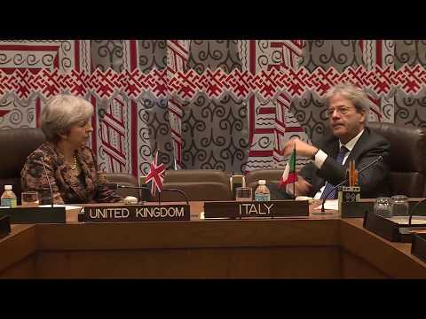 Il Presidente Gentiloni a New York (19-20/09/2017)