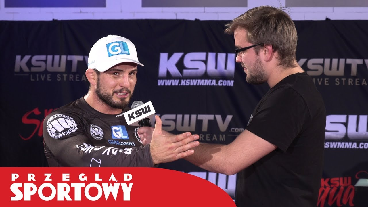 Borys Mańkowski szczerze o szacunku dla rywali w MMA
