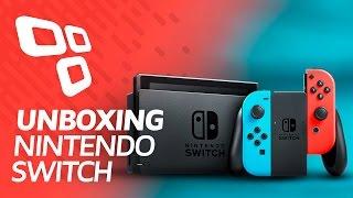 Unboxing: console Nintendo Switch - TecMundo
