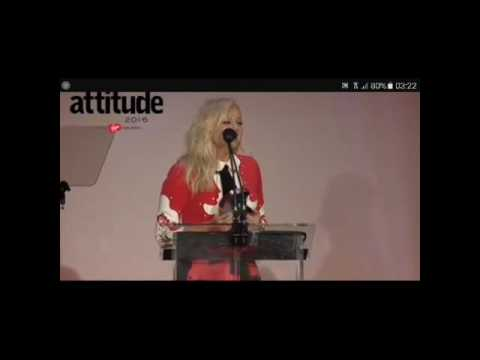 Geri Halliwell @ Attitude awards 2016