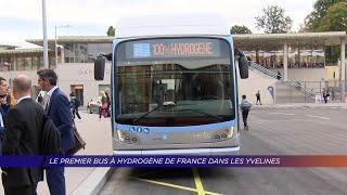 Yvelines | Le premier bus à hydrogène de France dans les Yvelines