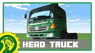 Minecraft Tutorial - Membuat Kepala Truck | Truck Head