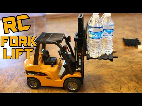 Big RC ForkLift / Crane Review SUPER REALISTIC -1/10 Scale A