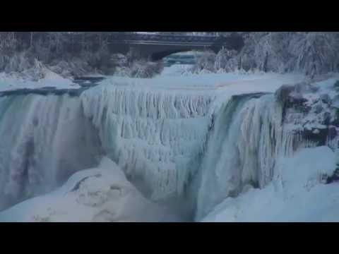 ICE BRIDGE at Niagara Falls (Day 27) Feb.6, 2015