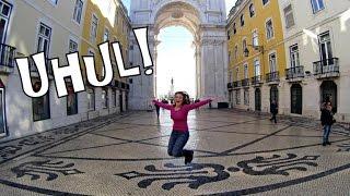 EURO VLOG - Dia 6 e 7, Portugal, Belém, Praça do Comércio...