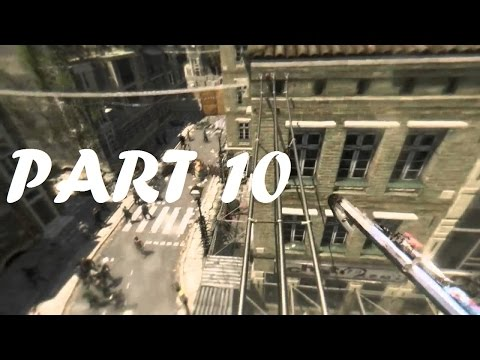 Dying Light - PART 10 - Nvidia Outfit, Infected school of slums, Radio antenna GLITCH!!! | Romania