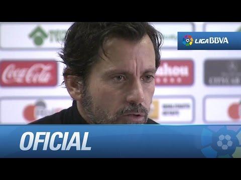 Quique Sánchez Flores, nuevo entrenador del Getafe CF - HD