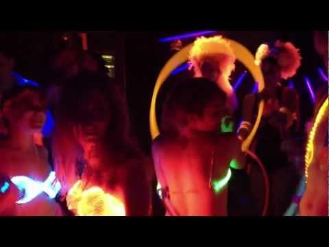Glowing GlamTech Goddesses 2012 Fiber Optic Fashion