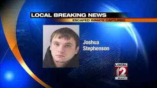 Escaped Kentucky inmate arrested in Hamilton