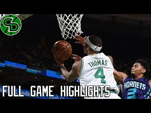 Charlotte Hornets at Boston Celtics | Full Game Highlights | Dec 16, 2016 | NBA SEASON 2016-17 |
