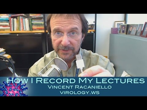 How I record my lectures