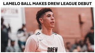 LaMelo Ball Goes Off for 25 Points in Drew League Debut | Full Highlights