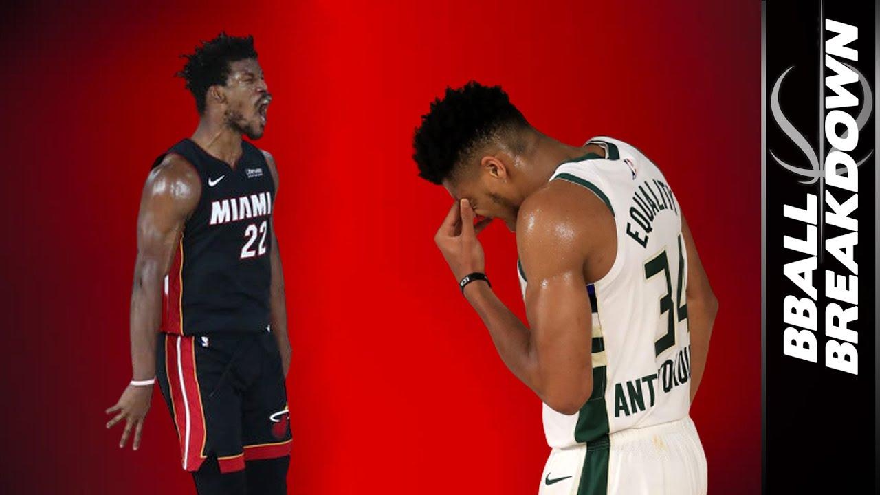 Jimmy Butler Shows Giannis What An Mvp Looks Like Heat Vs Bucks Game 1 2020 Nba Playoffs Youtube