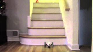 ❤ How To Jump Up Stairs with Parrot Jumping Sumo ❤