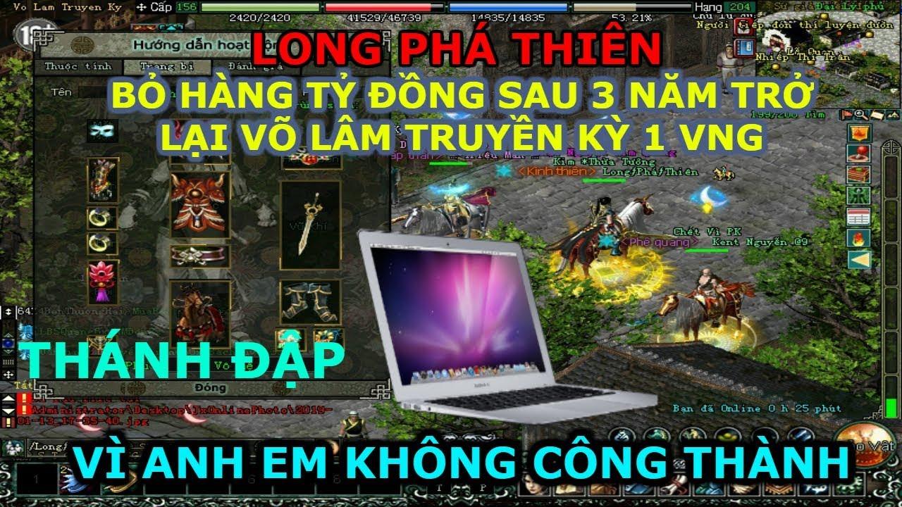 LONG PHÁ THIÊN – Đại gia HẢI PHÒNG chơi VLTK1 và những chuyện hay về cái tên LPT này